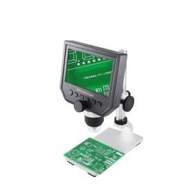 "Microscopio Digital 600x 3.6MP Portátil Con 4.3"" HD"