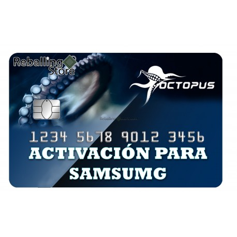 Activación Samsung para Octoplus/Octopus