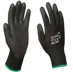 Guantes Shadow de PU Medianos