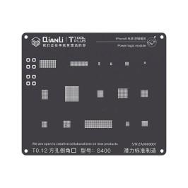 iBlack Stencil Power logic (iPhone 7)