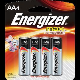 Pack de 4 Baterías AA Energizer