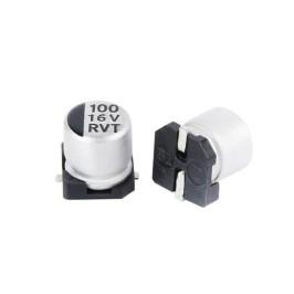 Capacitor SMD Aluminio 100uF 16V