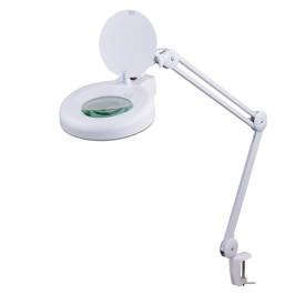 Lampara con Lupa de inspección para mesa de trabajo 5X
