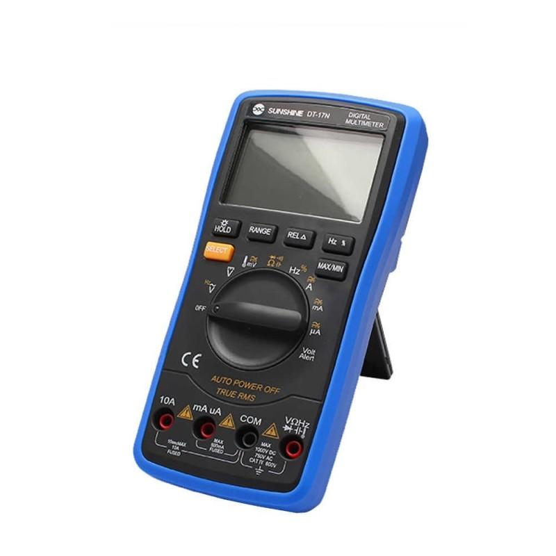 Multimetro Digital Autorrango DT-17N