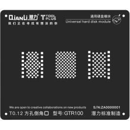 Esténcil Universal Hard disk