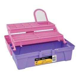 """Caja de 14"""" rosa/morado con..."""