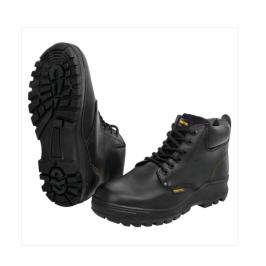 Zapatos con casco, Negro