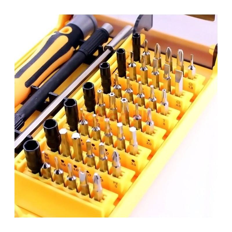 Kit de Desarmadores 45 en 1