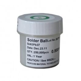 250, 000 Esferas De Soldadura De 0.50mm Sn-Pb