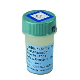 250, 000 Esferas De Soldadura De 0.40mm Sn-Pb